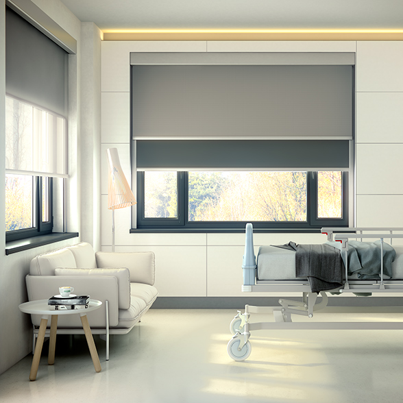 Cortina enrollable con cajón B-Box Duo de Bandalux